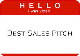hello my name is best sales pitch